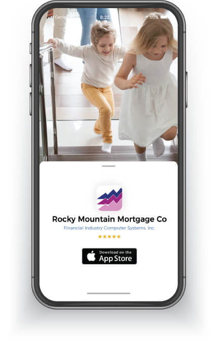 Rocky Mountain Mortgage Company mobile website on smart phone. Mortgage Lender, Mortgage Loans